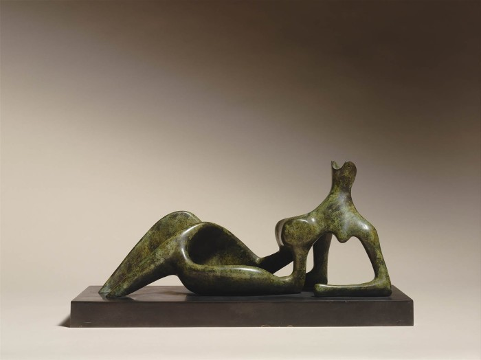 Working Model for Reclining Figure: Festival