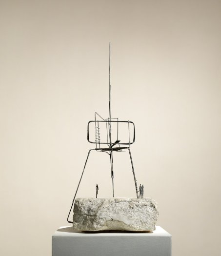 Final Maquette for the Monument to the Unknown Political Prisoner