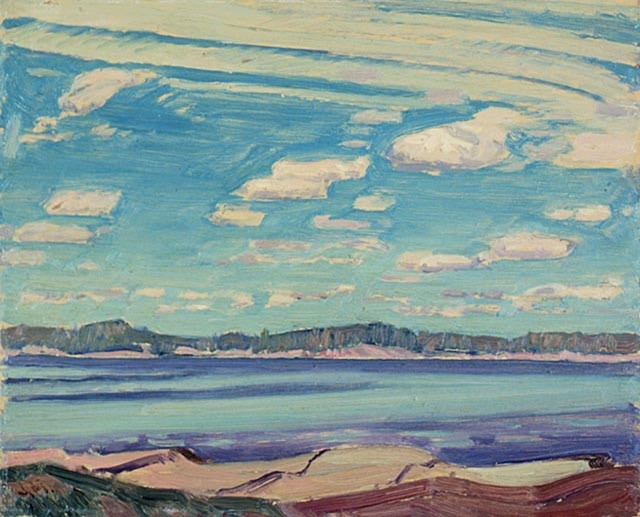J.E.H. MacDonald, Sturgeon Bay, near Pointe-au-Baril, 1931, National Gallery of Canada, Ottawa, Ontario, Accession No. 15497