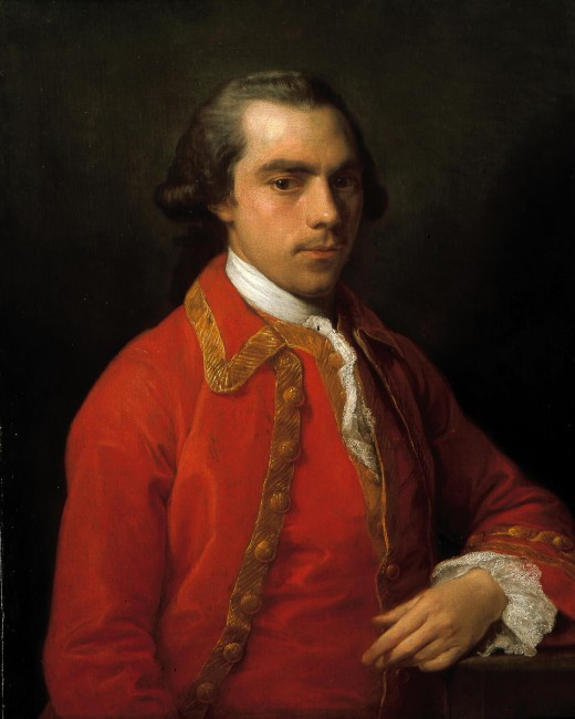 Pompeo Batoni, Portrait of a Gentleman, c. 1762