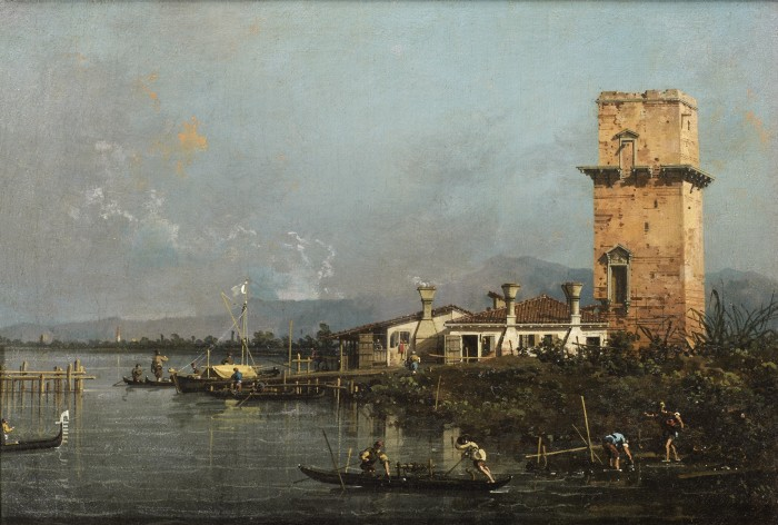 Antonio Canal, called Canaletto, The Tower of Malghera, c. 1740s