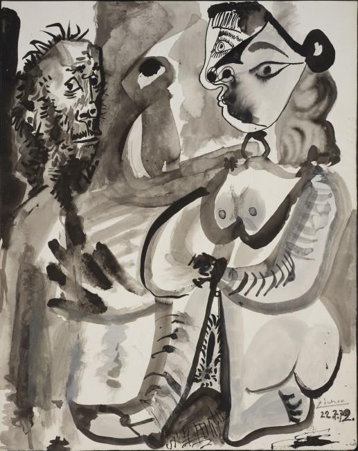 Pablo Picasso, Untitled, 1972