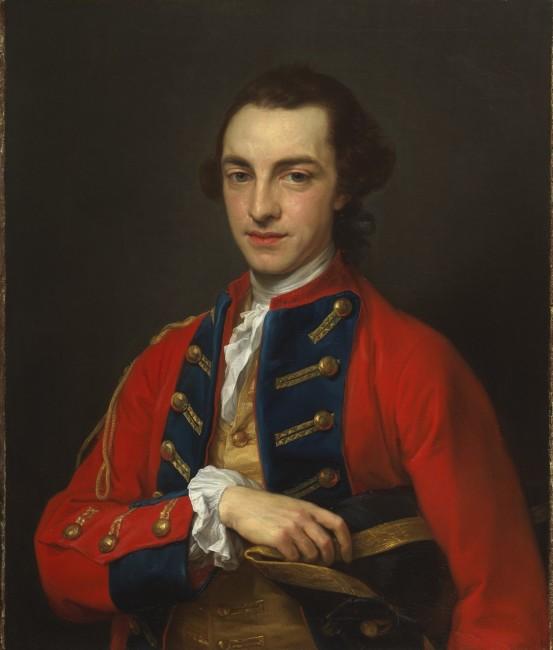 Pompeo Batoni, Portrait of George Craster, 1762
