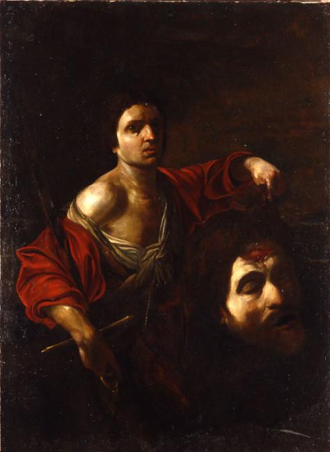 Bartolomeo Manfredi, David with the Head of Goliath