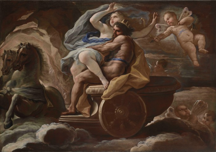 Luca Giordano, The Abduction of Proserpina
