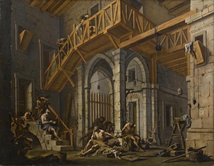 Alessandro Magnasco, Joseph Interprets the Dreams of the Pharaoh's Servants Whilst in Prison, c. 1726–31