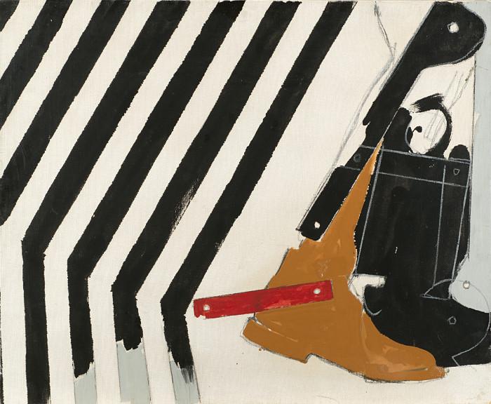 Mario Schifano, Dopo le Strisce, 1965