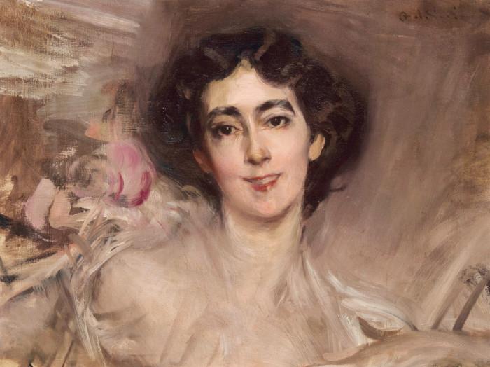 Giovanni Boldini, Portrait of Elsie de Wolfe, later Lady Mendl (1865–1950), 1898