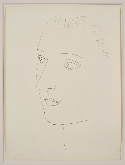 Pablo Picasso, Head of a Woman (Sara Murphy), 1923