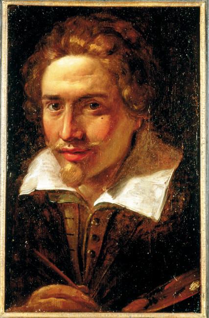 Giulio Cesare Procaccini, Self-Portrait, ca. 1600