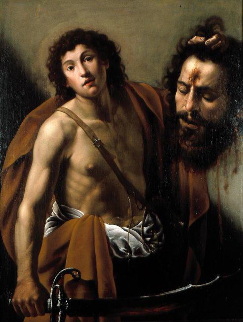 Giuseppe Vermiglio, David with the Head of Goliath, early 1620s