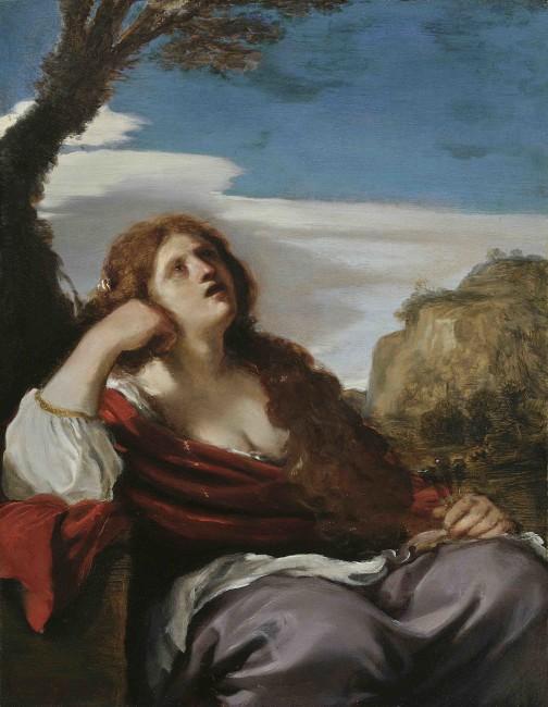 Giovanni Francesco Barbieri, called Guercino, Mary Magdalene