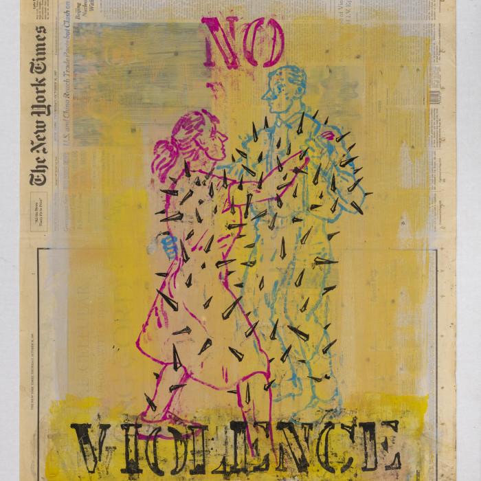 TGP HOLLAND PARK: Nicky Nodjoumi - The New York Times Drawings 1996 - 1998