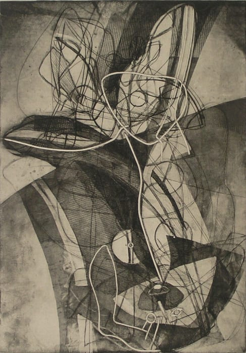 Stanley William Hayter, Trois Personages, 1951