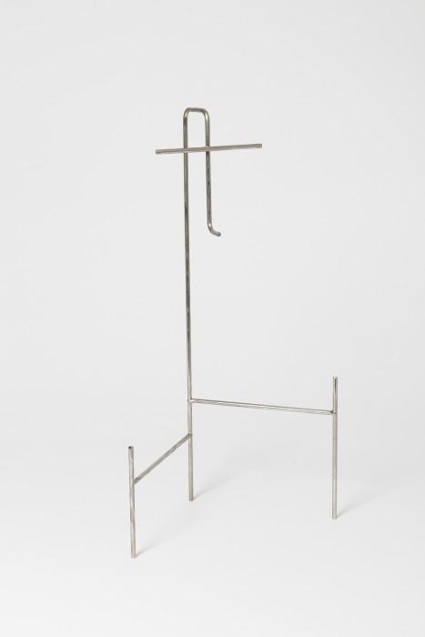 Mask Display Stand (Portrait of V), 2006