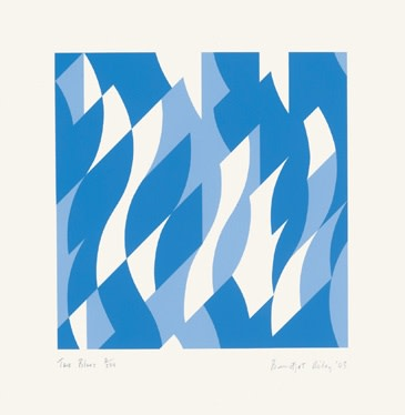 Two Blues (Tate Print)
