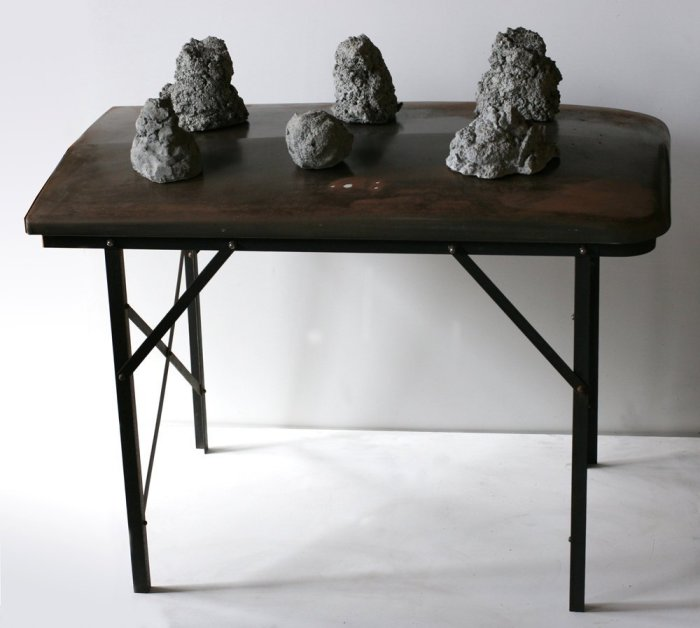 Untitled (Refrigerator Table)