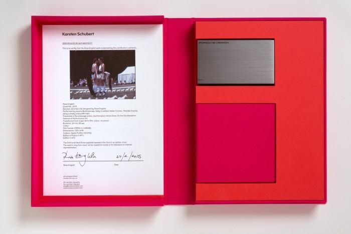 Quadrille [Edition], 1975