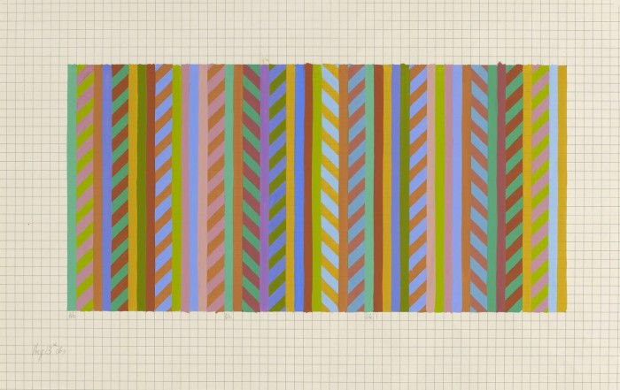 Transition [stripe to rhomboid]