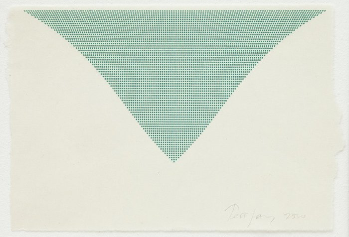 Untitled (Green Triangle)