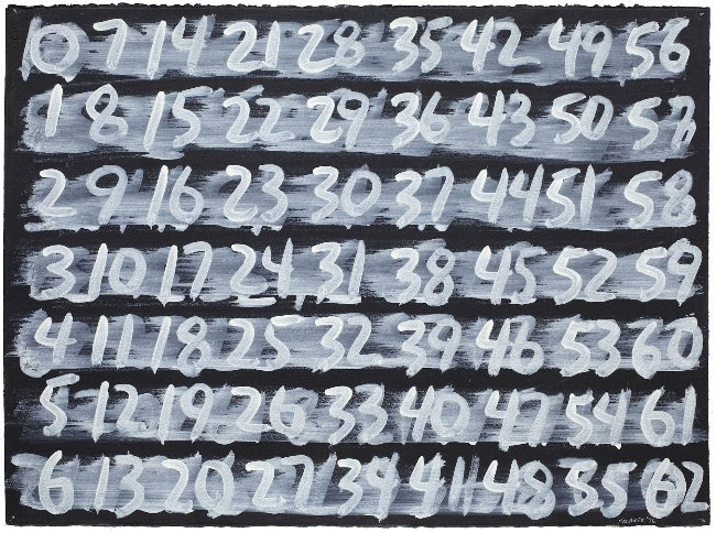 Counting (1-62)