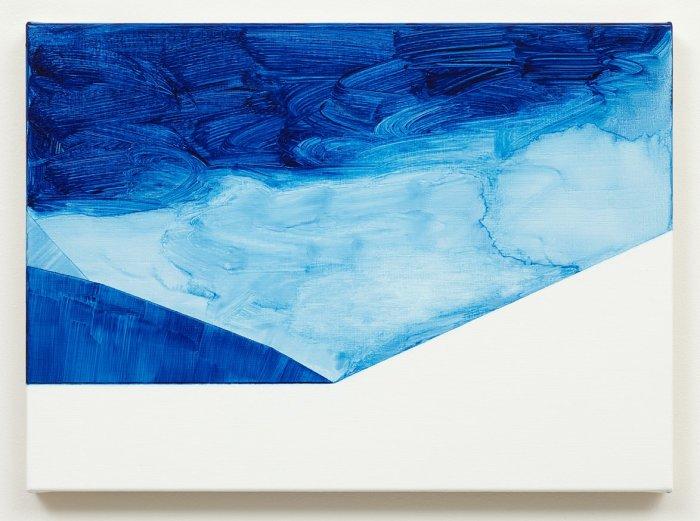 Untitled (Paris blue)