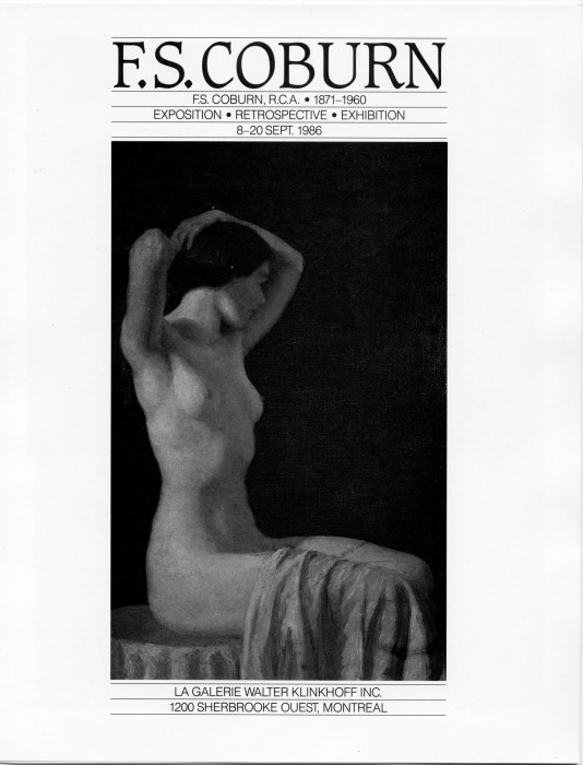 Frederick Simpson Coburn Biography in F.S. Coburn Exposition · Retrospective · Exposition. Written and published by Galerie Walter Klinkhoff, 1966.