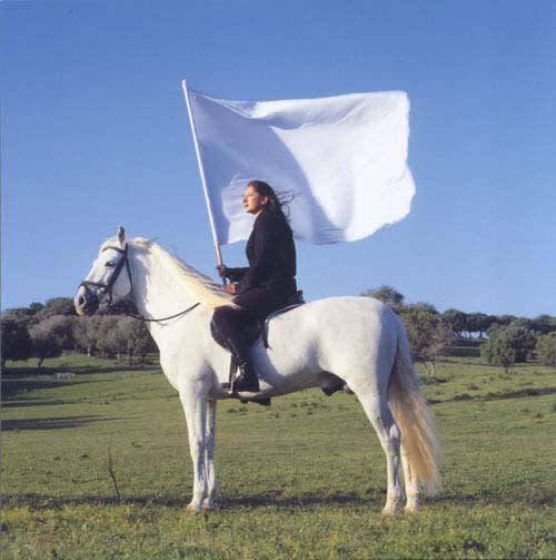 Marina Abramovic, The Hero (for Antonio), 2001