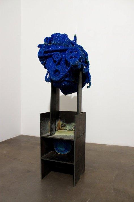 Roger Hiorns, Untitled, 2010