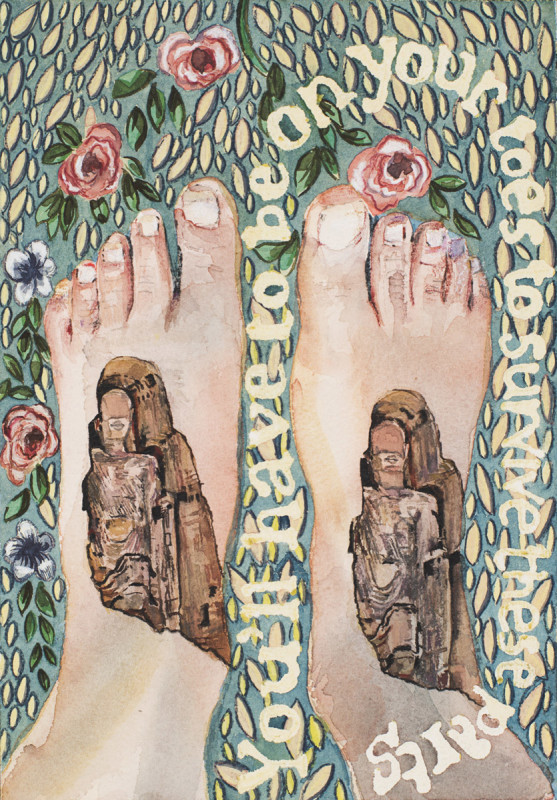 Jade Montserrat, You'll have to be on your toes, 2015