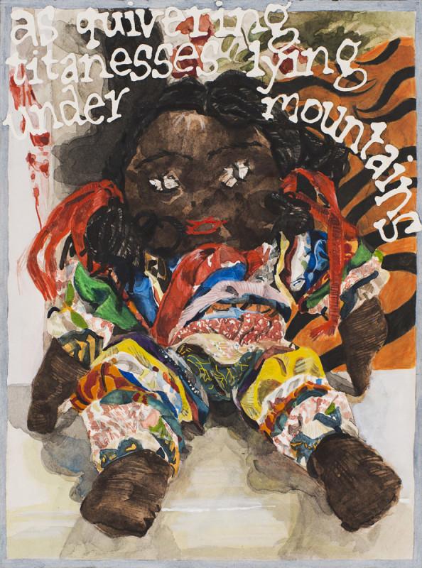 Jade Montserrat, Dolly Ribbons/Dolly Rhythms, 2016
