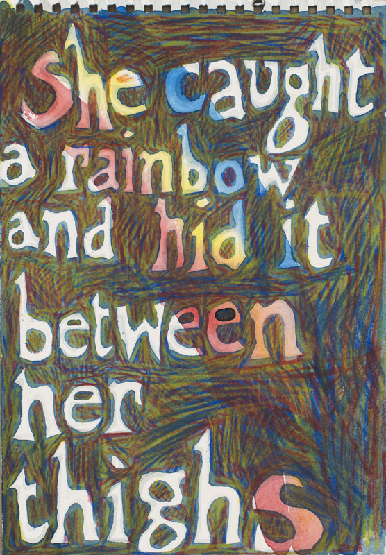 Jade Montserrat, She caught a rainbow and hid it between her thighs, 2017