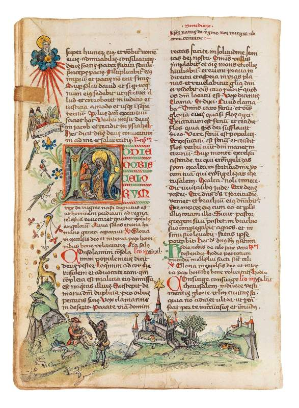 Anonymous artist from Constance, Breviary, winter part, 1476-78