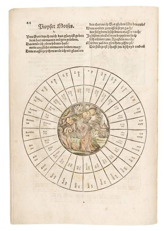 Loosbuch – Book of Fortune, 1546