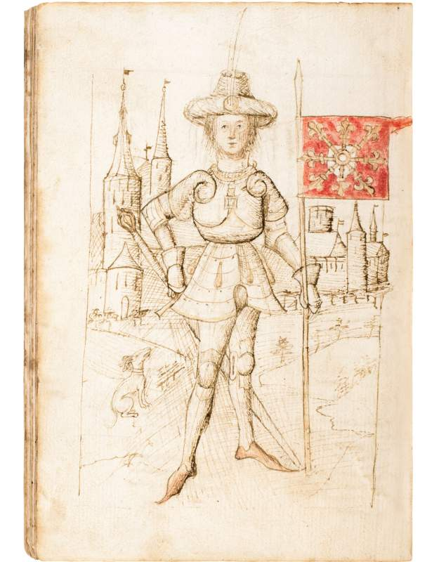 A manuscript returning home
