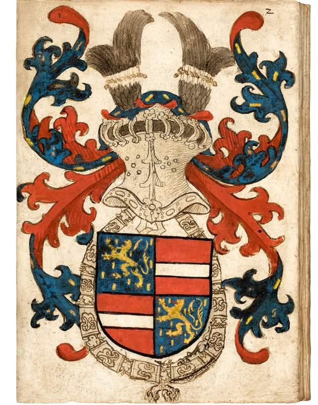 Das Nassau-Vianden Wappenbuch