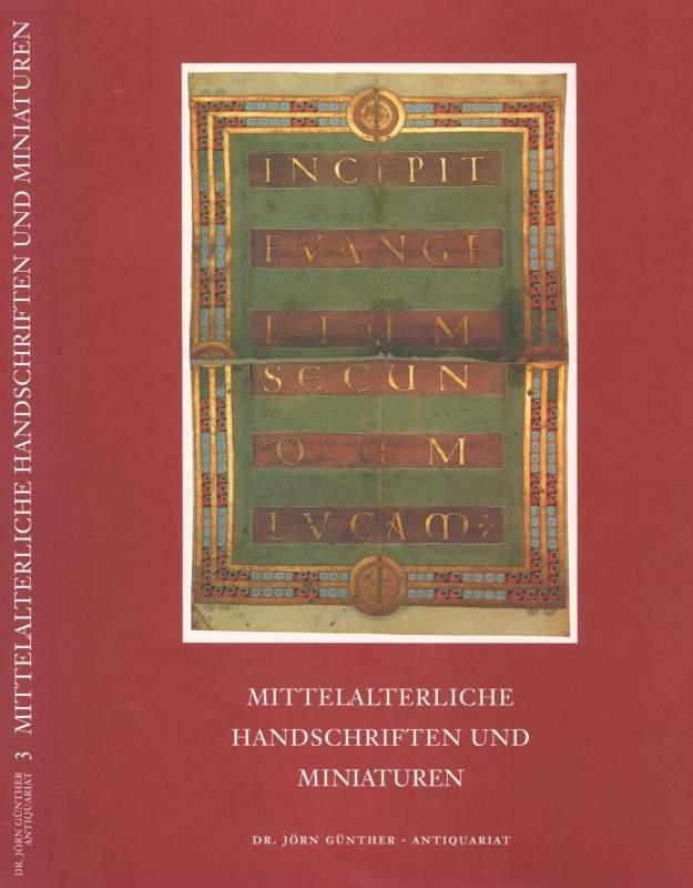 Mittelalterliche Handschriften und Miniaturen, Catalogue No. 3