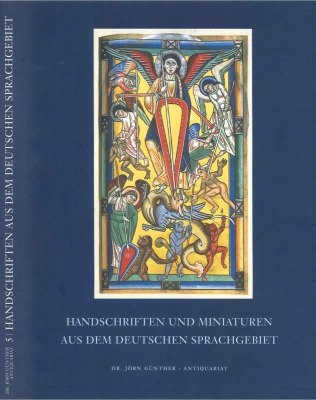 Handschriften und Miniaturen aus dem deutschen Sprachgebiet, Catalogue No. 5
