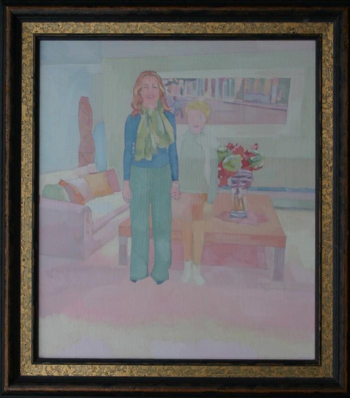 """<span class=""""artist""""><strong>Barbara Hoogeweegen</strong></span>, <span class=""""title""""><em>Halvdan</em>, 2013</span>"""