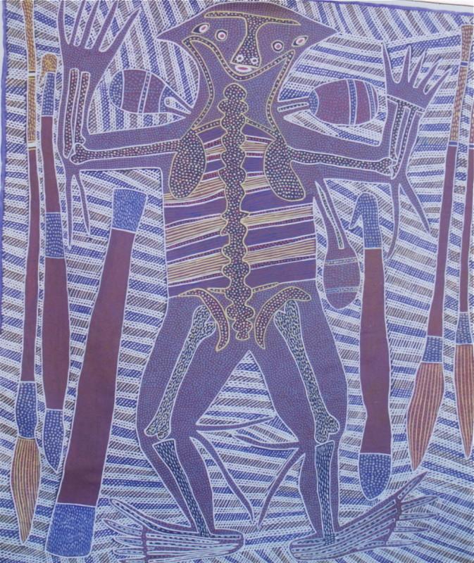 "<span class=""artist""><strong>Sambo Barra Barra</strong></span>, <span class=""title""><em>Devil Devil Man </em></span>"