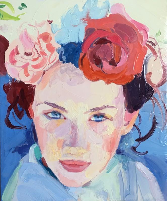 """<span class=""""artist""""><strong>Barbara Hoogeweegen</strong></span>, <span class=""""title""""><em>Bloom</em>, 2018</span>"""
