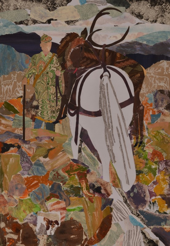 """<span class=""""artist""""><strong>Dione Verulam</strong></span>, <span class=""""title""""><em>Coming Home from the Hill</em>, 2014</span>"""