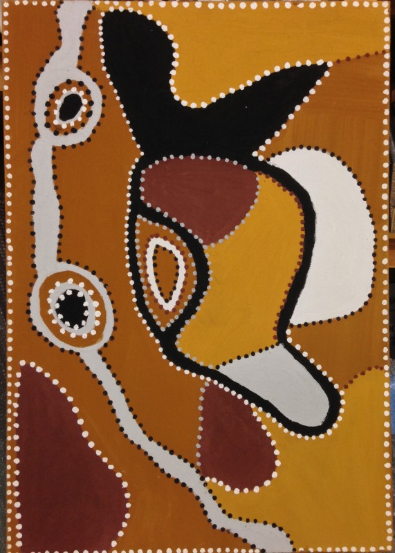 "<span class=""artist""><strong>Shirley Purdie</strong></span>, <span class=""title""><em>Warrabung</em>, 1984</span>"