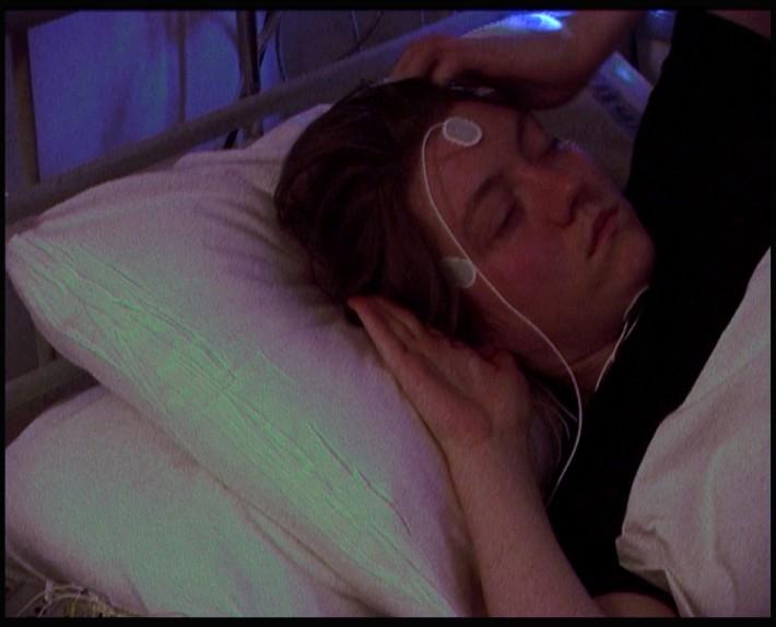Catherine Yass, Sleep Test, 2008. © Catherine Yass