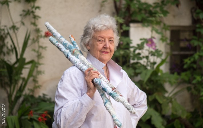 Sheila Hicks, 2019. Photo: Cristobal Zanartu, 2019