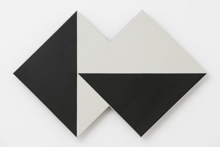 Lygia Clark, Superficie Modulada, 1958/1984. Industrial ink on wood. 42 x 63 cm, 16 1/2 x 24 3/4 ins. © O Mundo de Lygia Clark-Associação Cultural, Rio de Janeiro