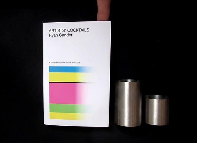 Ryan Gander Artists' Cocktails