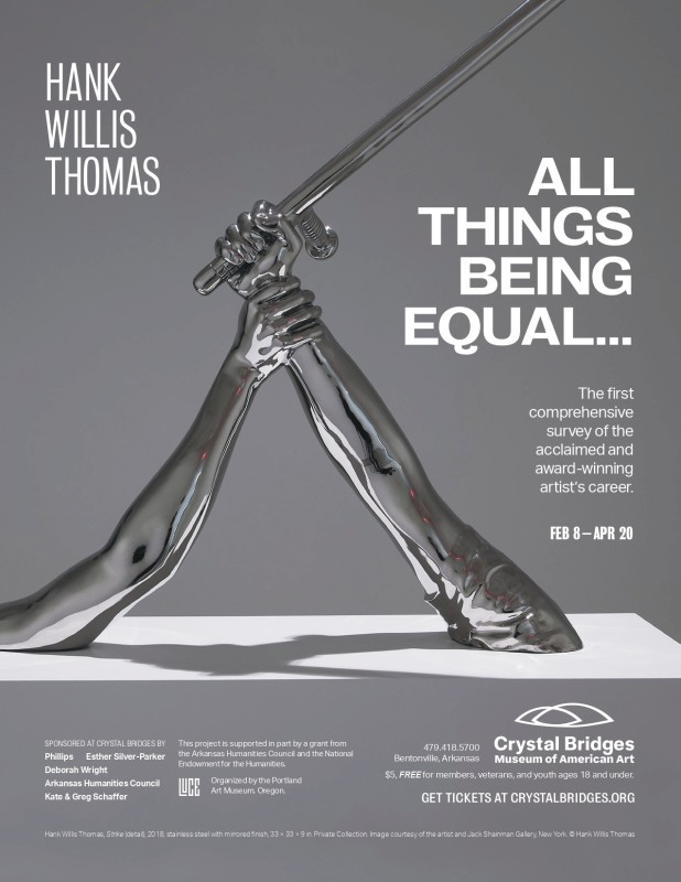 HANK WILLIS THOMAS: All Things Being Equal... at Crystal Bridges Museum of American Art