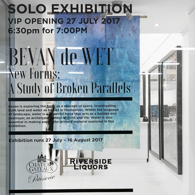 Bevan De Wet | New Forms: A Study of Broken Parallels, VIP Opening | Solo Exhibition Opening | 27th July...