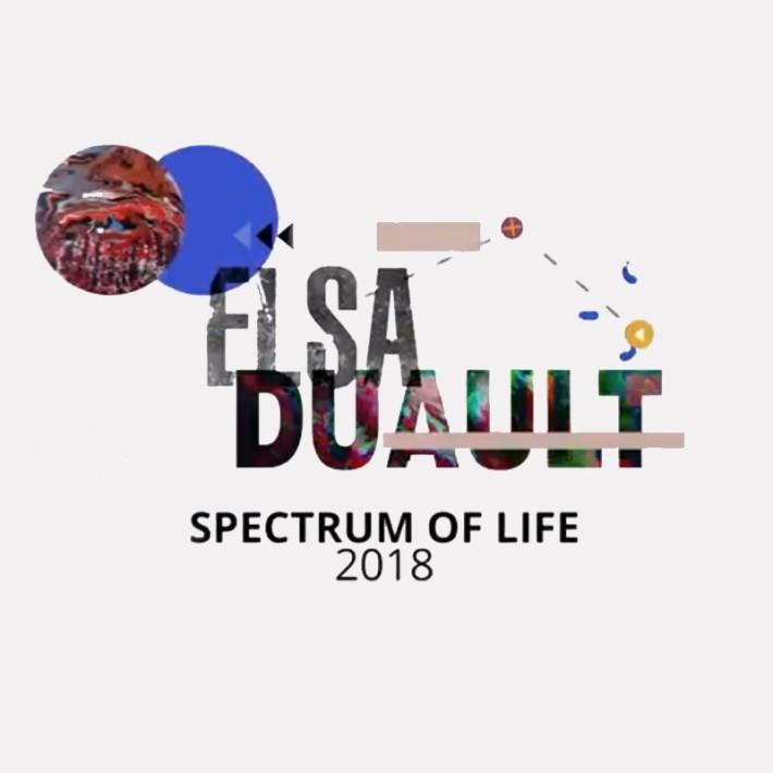 Elsa Duault | Spectrum of Life, Turbine Art Fair 2018